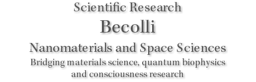 Scientific Research Becolli Nanomaterials and Space Sciences Bridging materials science, quantum biophysics